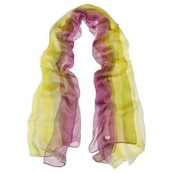 TONY&CANDICE(TM) 100% Silk Extra Long Oblong Silk Scarf,65″L41″W (Color 4)