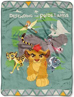 Disney Junior Lion Guard Silk Touch Throw, 46 by 60-Inch
