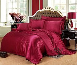 Lotus Karen Gorgeous Silk Like Satin Bedding Sab005F (2017 New Design) Classic Style Bedding Set ...