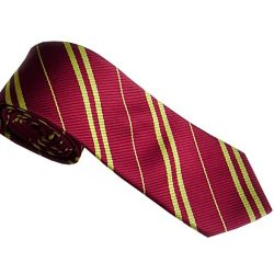 Gotd Men Neckties Ties Silk Business Suit (Red)
