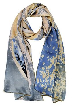 "ELEGNA Women 100% Silk Art Collection Scarves (Gustav Klimt ""Kiss"")"