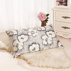 ALASKA BEAR Natural Silk Pillowcase, Hypoallergenic, 19 momme, 600 thread count 100 percent Mulb ...