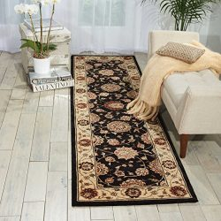 Nourison Nourison 2000 (2204) Midnight Rectangle Area Rug, 2-Feet by 3-Feet  (2′ x 3′)