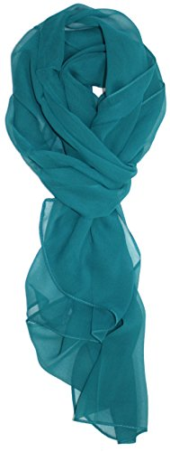 Ted and Jack – Solid Silk Lightweight Accent Scarf in Jade