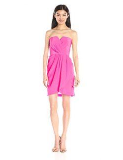 Yumi Kim Women's Date Night Silk Dress, Pink, Medium