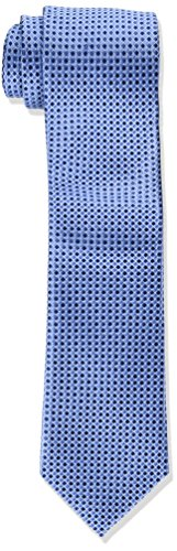 Tommy Hilfiger Men's Core Micro Tie, Blue, Slim