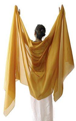Nahari Silks 100% Silk Gold 137″