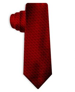 HITMAN CLASSIC RED TIE (GE3072) 2016 Silk