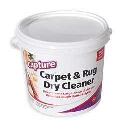 Capture Carpet Dry Cleaner Powder 2.5 Pound – Resolve Allergens Stain Smell Moisture from  ...