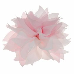 Lady Peony Silk Party Wedding Brooch Corsage Hair Head Clip Headdress Flowers (Pink color&ac ...