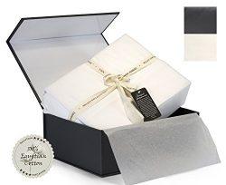 Thomas Gene Deep Pocket Sateen Sheet Set (King, White)