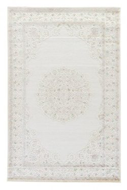 Jaipur Living Wistful Damask White Area Rug (2′ X 3′)