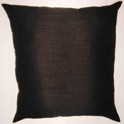 Zappy Cart Black-Satin Dupioni Faux Silk Cushion Covers. Size – 20 inch x 20 inch.