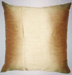 Zappy Cart Gold-Satin Dupioni Faux Silk Cushion Covers. Size – 18 inch x 18 inch.