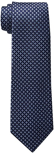 Tommy Hilfiger Men's Core Micro Tie, Navy, Slim