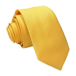 Gifts For Men ! Charberry Mens Trendy Solid Color Tie Casual Slim Plain Mens Solid Skinny Neck P ...