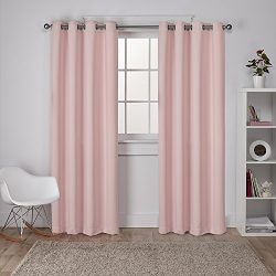 Exclusive Home Curtains Sateen Twill Weave Insulated Blackout Grommet Top Window Curtain Panel P ...