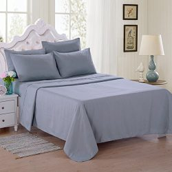 Jml Full Size Eco Bedding Set, 100% Microfiber, 6 Pieces 90 GSM Skin-friendly Shrink & Fade  ...