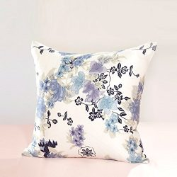 More colors Simple solid color hug pillowcase Silk cushion covers pillowcase for sofa and bed -H ...