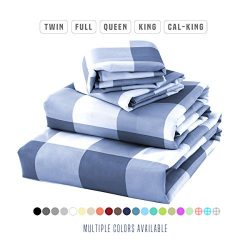 Luxe Bedding® Bed Sheet Set – Brushed Microfiber 2000 Bedding – Wrinkle, Fade, Stain ...