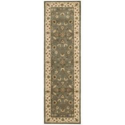 Nourison Nourison 2000 (2003) Olive Runner Area Rug, 2-Feet 6-Inches by 12-Feet  (2'6&#824 ...