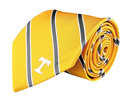 NCAA Tennessee Volunteers Stripe 2 Silk Woven Tie