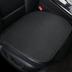 DEALPEAK Breathable Ice Silk Car Seat Cushions Four Seasons General Car Interior Anti-skid Seat  ...