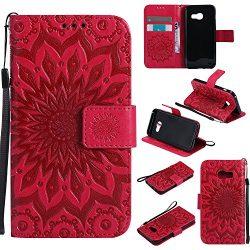 Galaxy J7 V Case J7 Perx /J7 Sky Pro Cover ZVKVAMT Luxury Natural Silk PatternPU Leather Wallet ...