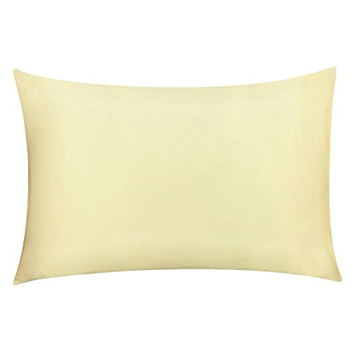 Wonder-Home Natural Silk Pillowcase for Hair and Skin, OEKO-TEX Certified Beauty Pillow Shams Co ...
