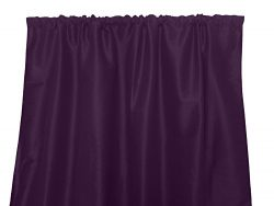 Zen Creative Designs Solid Faux Silk Dupioni Curtain Panel / Home Window Decor / Window Treatmen ...