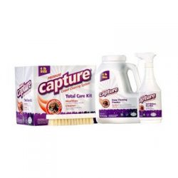 Capture Carpet Dry Cleaning Kit 100 – Resolve Allergens Stain Smell Moisture from Rug Furn ...