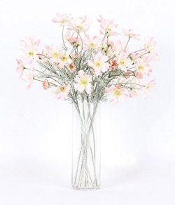 Artfen 6 Pack Artificial Calliopsis Flowers Fake Silk Flower Table Kitchen Home Garden Party Wed ...