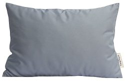 TangDepot Durable Faux Silk Solid Pillow Shams, Rectangle pillow covers, Decorative Cushion Cove ...