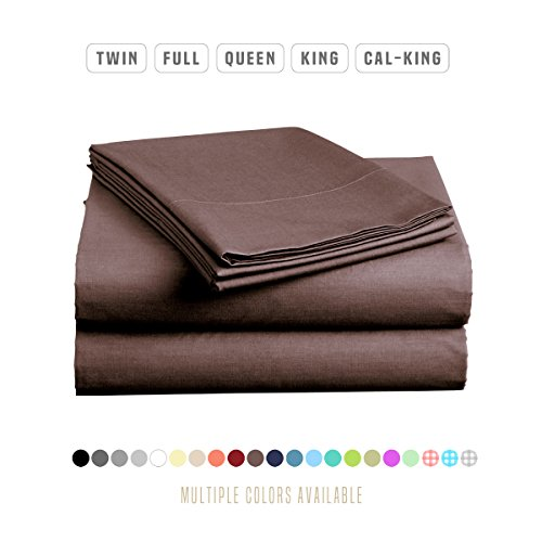 Luxe Bedding Sets – Microfiber Twin Sheet Set 3 Piece Bed Sheets, Deep Pocket Fitted Sheet ...
