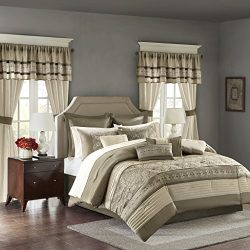 JLA Home INC Madison Park Essentials Jelena King Size Bed Comforter Set Room In A Bag – Ta ...
