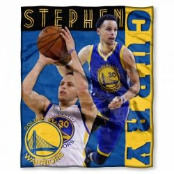 The Northwest Company NBA Golden State Warriors Stephen Curry Player Silk Touch Throw, 50-inches ...