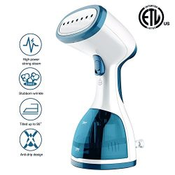 ANBANGLIN Travel Clothes Steamer- Top Handheld Steamer For Clothes -Fast Heat-up Portable Steame ...