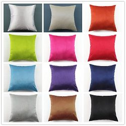 Jusefu Faux Silk Soft And Cozy Throw Pillow Cases/Cushion Cover For Hair And Skin Beauty And Sle ...