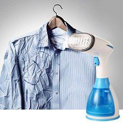 Etuoji 1500W Portable Handheld Blue Fabric Iron Laundry Garment Steamer