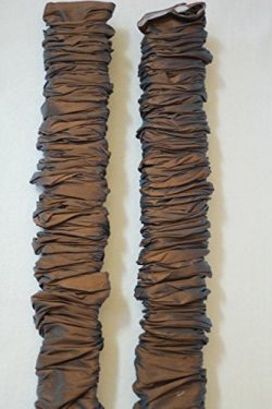 Cord & Chain Cover, 6.5 feet, 2 pack Silk-type Fabric, Velcro – Use for Chandelier, Li ...