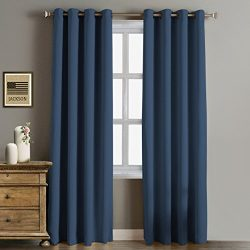 Rose Home Fashion RHF Funtion Curtain-Blackout curtains 96 inch,Bedroom Curtains Blackout Curtai ...