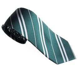 Gotd Men Neckties Ties Silk Business Suit (Green)