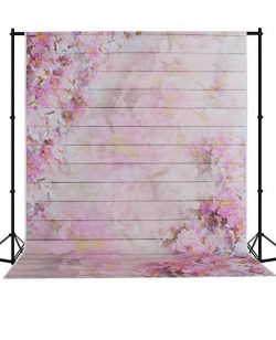 Mehofoto Seamless Photo Backdrop Silk Watercolor Photography Background Collapsible Studio Flowe ...