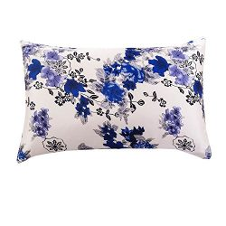 Tim & Tina 100% Pure Mulberry Luxury Silk Satin Pillowcase,Good for Skin and Hair (Toddler/T ...