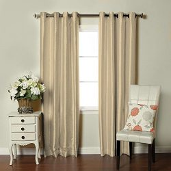 Product of Brielle Faux Silk-Lined Insulated Room-Darkening Panel (Assorted Sizes and Colors) &# ...