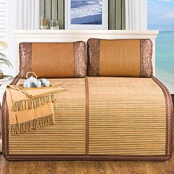 WENZHE Mattresses Cooling Mattresses Bamboo Bedding Straw Mat Summer Sleeping Mats Bed-mat Colla ...