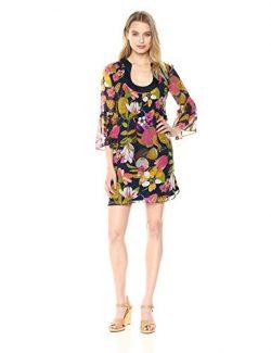 Trina Turk Women's Bonita Dress, Indigo, Small