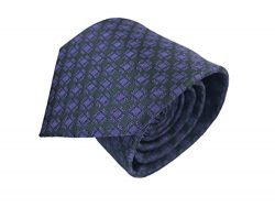 Luxury Mens Neckties,100% Italian Microfiber Hand Made, 15 Awesome Variations (Dark Purple/Black ...