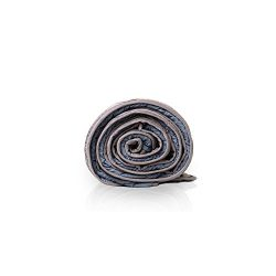 RILUXI Reversible Weighted Blankets 15Ibs|Grey/Navy, Queen| All-Season Heavy Sensory Blanket wit ...