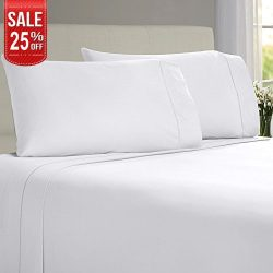 LINENWALAS Todays Deal Pillow Cases – 100% Organic Moisture Wicking Bamboo |Silk Like Soft, Hypo ...